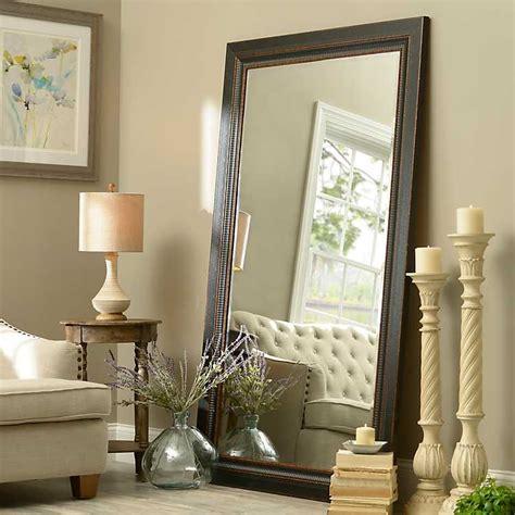 black framed mirror 46x76 in kirklands