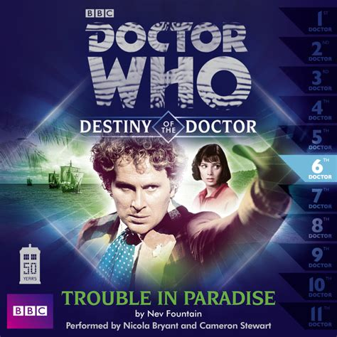 Trouble In Paradise For by 6 Trouble In Paradise Doctor Who Destiny Of The
