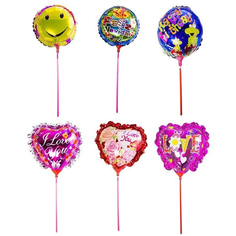heart shaped l wholesale cute round heart shaped helium mylar