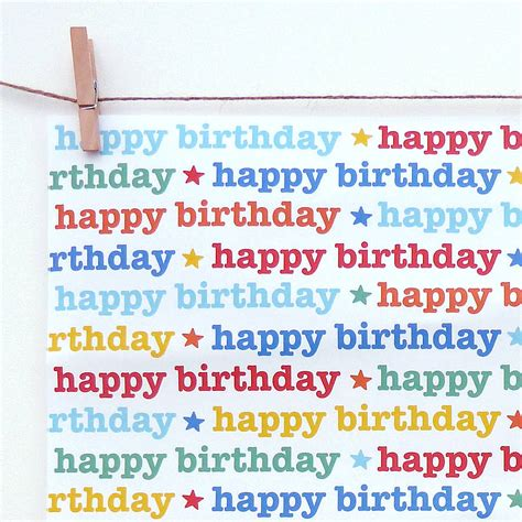 How To Make A Birthday Gift With Paper - 8 best images of printable birthday wrapping paper free