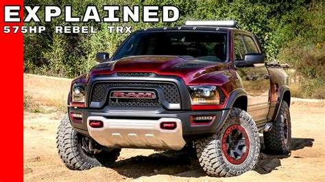 Rebel Truck Dodge by Dodge Ram Rebel Trx Concept Truck Explained