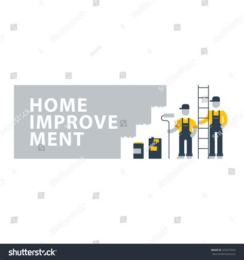 home improvement renovation services house painting stock