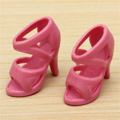 40 pairs different high heel shoes boots accessories for