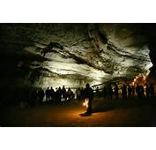 Massive Mammoth Cave National Park In Kentucky USA