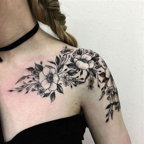 tattoo flower for woman fascinating womens shoulder tattoos design tips and ideas