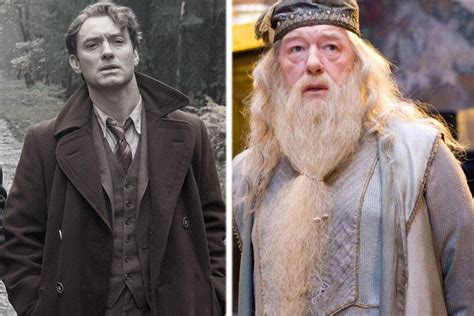 actor gandalf y dumbledore young dumbledore will be played by jude law in the