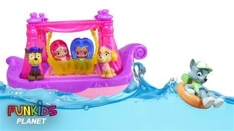 paw patrol sea patrol bath boat paw patrol bath toys bath squirters with shimmer and