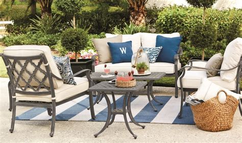 ballard designs patio furniture maison collection outdoor dining contemporary patio