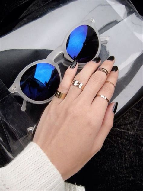 mid finger rings tumblr jewels gold midi rings gold mid finger rings knuckle