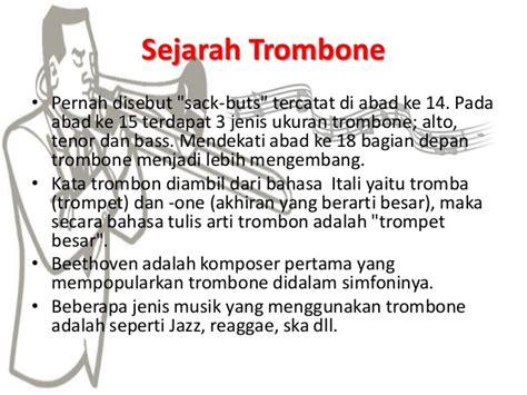 Trombhone Harrier Slide Ska alat musik 2