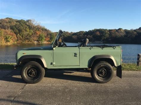 land rover defender convertible land rover defender 90 galvanized chassis convertible