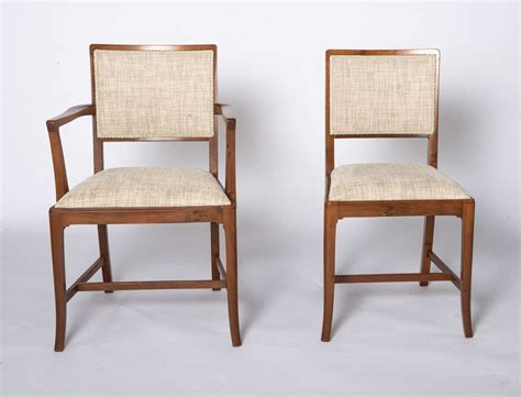 Yew Dining Room Furniture A Set Of Eight Yew Dining Chairs By Heal And Sons Of For Sale At 1stdibs
