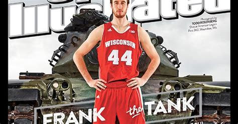 Tank Cover March frank kaminsky sports illustrated 2015 march madness magazine cover quot frank the tank quot ncaa