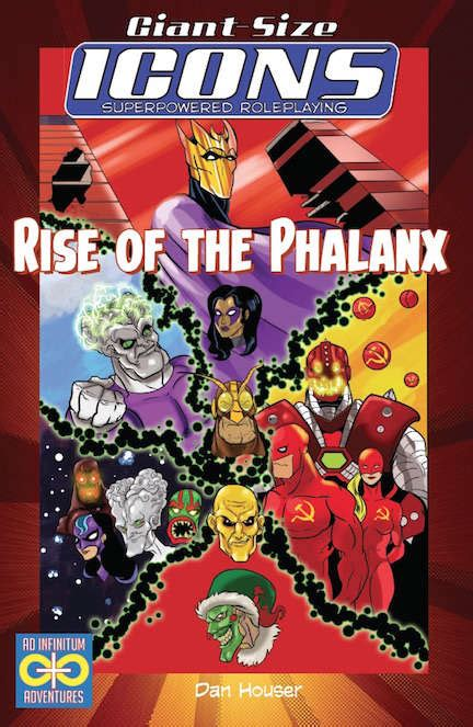icons superpowered roleplaying the assembled edition books icons rise of the phalanx ad infinitum adventures