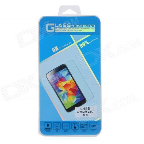 Tempred Glass Asus Zenfone 5 Clear clear tempered glass screen protector guard for asus