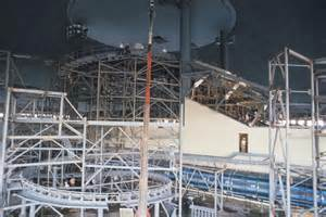 World Construction The Construction Of Space Mountain Wdwmagic Unofficial