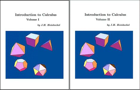 introductory calculus for infants free calculus e books introduction to calculus volumes 1