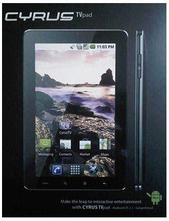 Tablet Cyrus Murah cyrus tv pad tablet android 7 inci dengan fitur tv harga