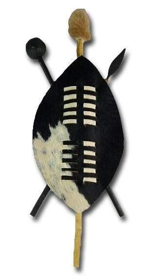 Southern Home Decor Ideas by African 45 Cm Zulu Warrior Shield