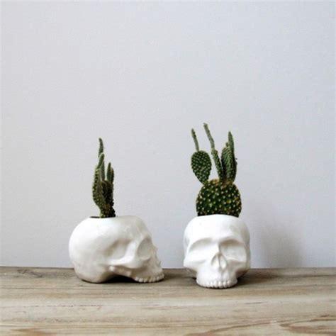 cactus home decor jewels skull flower pot skull flower pot home decor