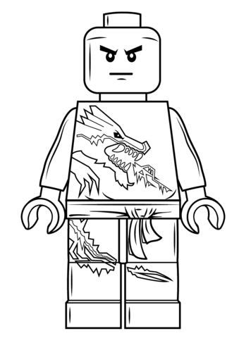 ninjago face coloring pages 25 best lego ninjago kost 252 m ideas on pinterest
