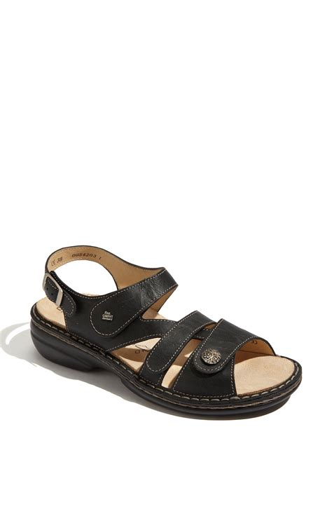 finn comfort sandals sale finn comfort gomera sandal in black lyst