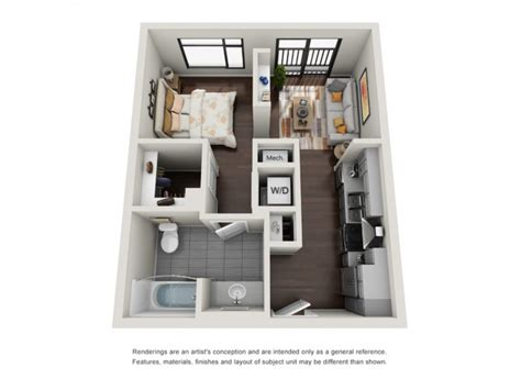 1 Bedroom Apartments In Norfolk by 1 Bedroom Apartments In Norfolk Aura Downtown