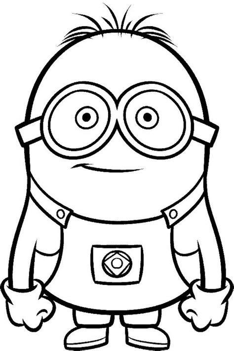 coloring pages of purple minion purple minions colouring pages page 2 clipart best