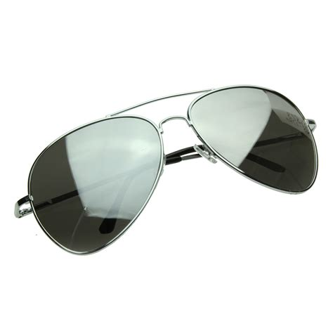 Mirrored Sunglasses large metal aviators mirrored aviator sunglasses ebay