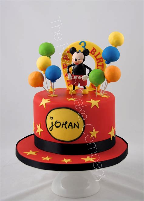 Decoration Gateau Anniversaire Mickey by Decoration Gateau Theme Mickey