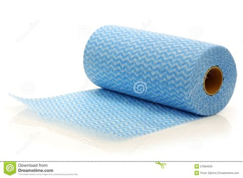 water absorbing roll of water absorbing tissues stock photos image 21894593