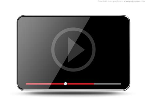 format video player video player icon psdgraphics