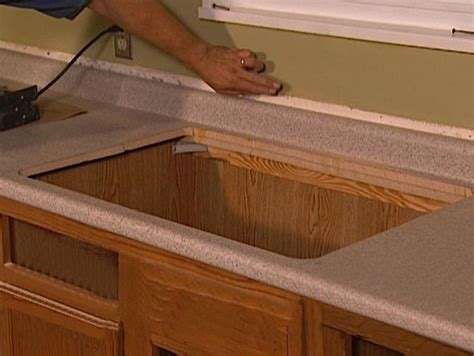 how to remove kitchen countertops how to install and maintain your own kitchen countertops