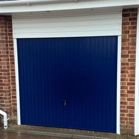 Cardale Novoferm Steel Canopy Gemini In Oxford Blue Elite Gd Oxford Overhead Door