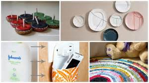 Decorative Crafts For Home 10 Clever Diy Home Decor Crafts With Actual Waste Materials