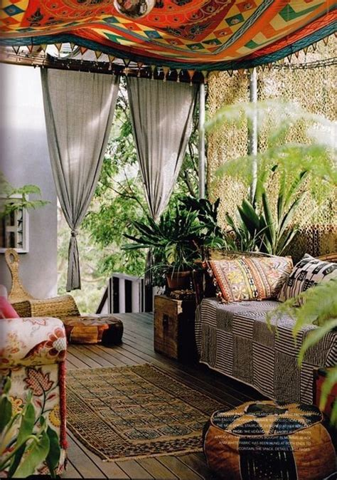 thatbohemiangirl my bohemian home outdoor spaces fashion editor