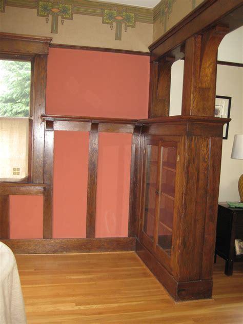 nicely finished dining room  portland oregon home