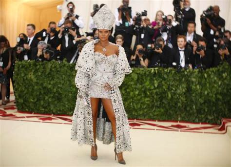 Versace Inspired By Popes by Pope Rihanna As Get Religious For Catholic Themed