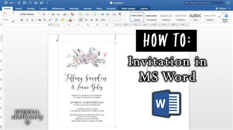 how to make wedding invitations on microsoft word lovely how to make
