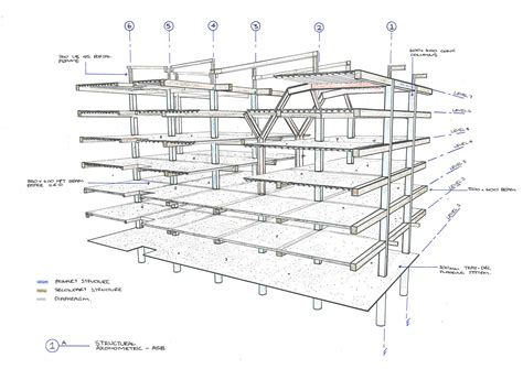 structure drawing architectural technology archi stud nz