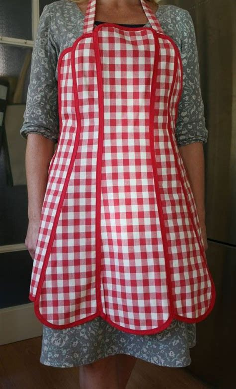 welding apron pattern red gingham gingham and aprons on pinterest
