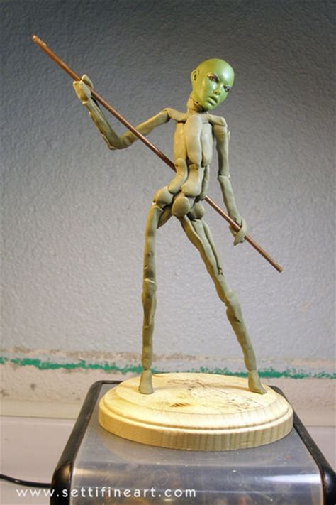 zbrush armature tutorial creating a figure armature for sculpture