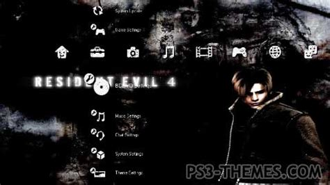 download themes resident evil ps3 themes 187 resident evil 4 versiond 02