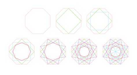 draw pattern using geometric shapes create a complex diamond pattern in illustrator veerle s