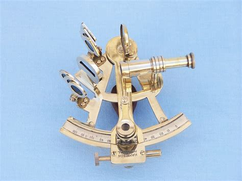 sextant sale buy scout s brass sextant 4 inch with rosewood box