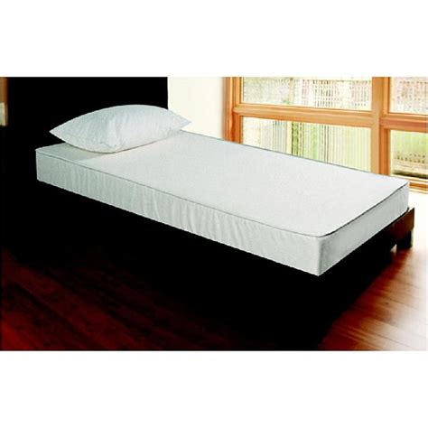 how big is a twin xl bed twin xl 6 quot two sided foam mattress by jeffco free shipping