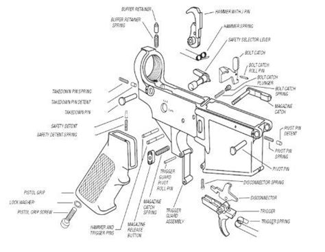 ar 15 parts diagram lower receiver ar 15 parts diagram lower receiver diarra regarding ar15