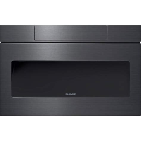 samsung black stainless microwave drawer sharp smd2470ah 24 quot microwave drawer black stainless steel