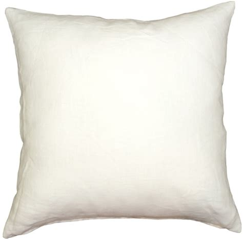 Linen Throw Pillow by Tuscany Linen White 17x17 Throw Pillow From Pillow D 233 Cor
