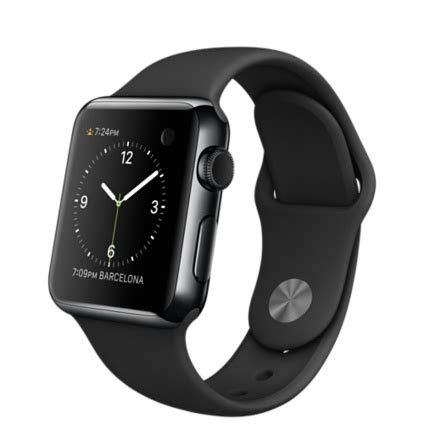 Apple Space Black Stainless Steel Wth Space Black Milanese 42mm apple 38mm space black stainless steel with black sport band apple au